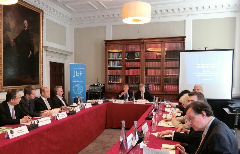 JEF-Chatham House International Symposium 2018
